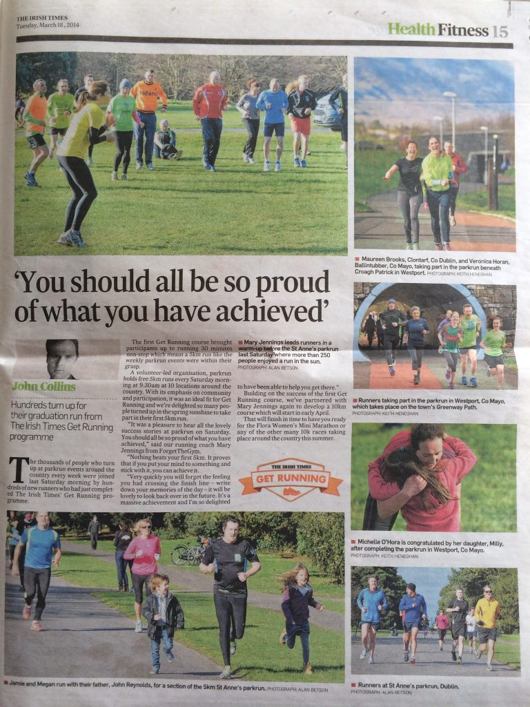 irish times parkrun